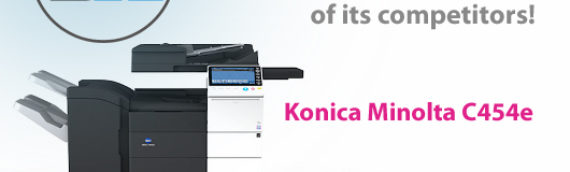 Konica Minolta C454e: How technology is helping Konica Minolta pull ahead of its competitors!