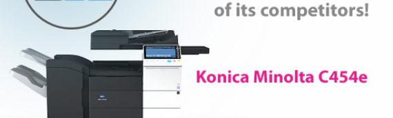 Konica Minolta C454e: How technology is helping Konica Minolta pull ahead of its competitors!