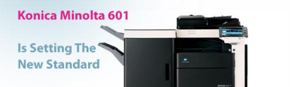 Konica Minolta 601 Is Setting The New Standard